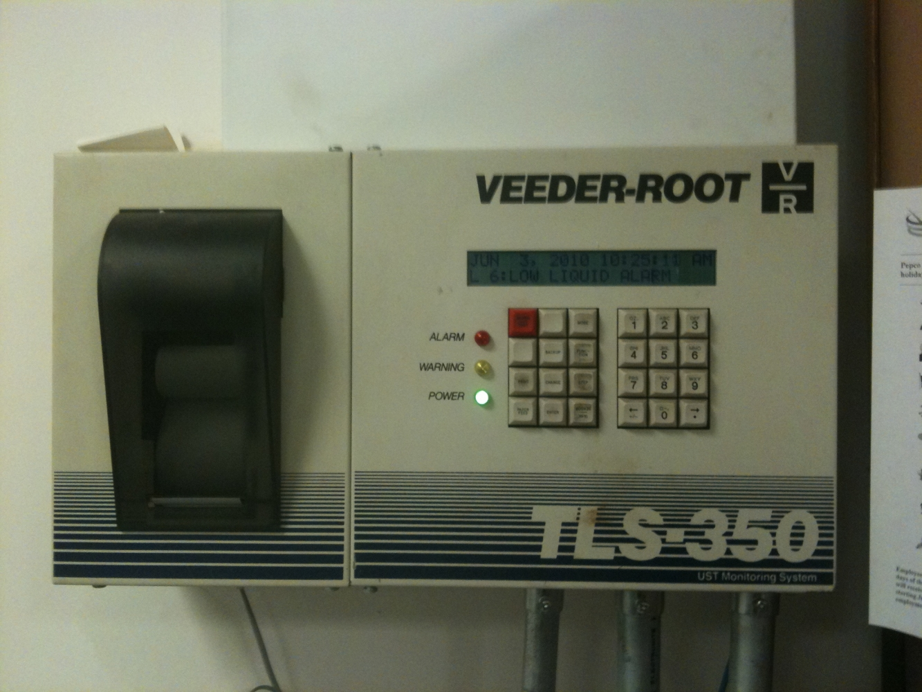 Our Technicians Are Certified In Veeder Root Incon
